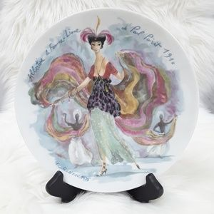 VTG Limoges Women of the Century Collector's Plate